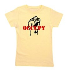 Occupy-hat2 Girl's Tee