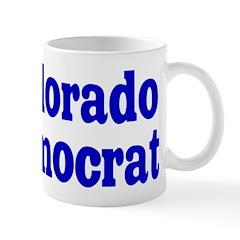 Colorado Democrat Coffee Mug