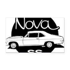 chevrolet-nova-01b Rectangle Car Magnet