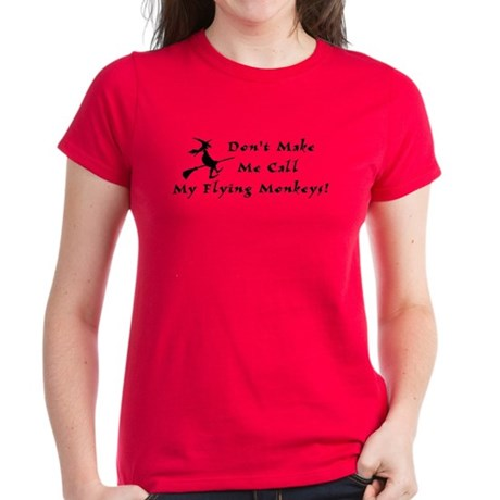Flying Monkeys Women's Dark T-Shirt