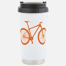 BOMB_orange Stainless Steel Travel Mug