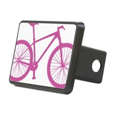 BOMB_pink Rectangular Hitch Cover