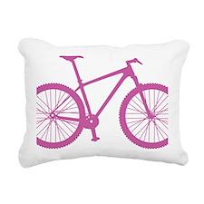 BOMB_pink Rectangular Canvas Pillow