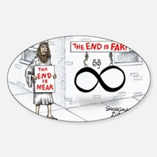Pi_30 End Not Near (10x10 Color) Decal