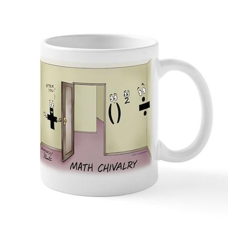 Pi_68 Math Chivalry (11.5x9 Color) Mug