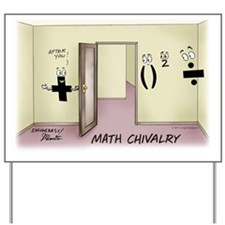 Pi_68 Math Chivalry (11.5x9 Color) Yard Sign