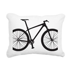 BOMB_black Rectangular Canvas Pillow