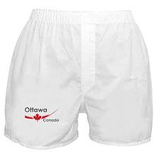 Ottawa Canada Boxer Shorts