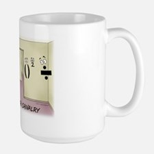 Pi_68 Math Chivalry (20x16 Color) Large Mug