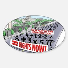 Pi_74 Equal Rights (20x16 Color) Decal