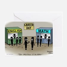 Pi_75 Career Day (5.75x4.5 Color) Greeting Card