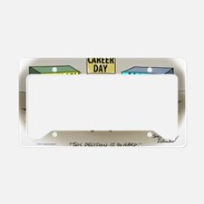 Pi_75 Career Day (7.5x5.5 Col License Plate Holder
