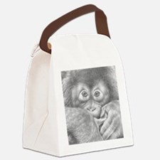 Orangutan (Mens Wallet) Canvas Lunch Bag