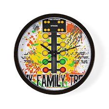 my family tree Wall Clock