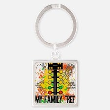 my family tree Square Keychain