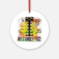 my family tree Round Ornament