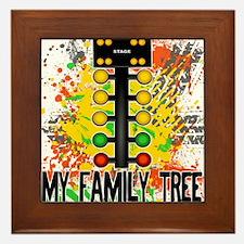 my family tree Framed Tile
