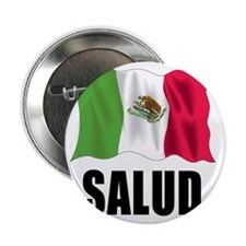"Salud Shot Glass 2.25"" Button"