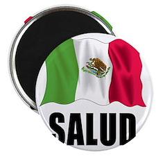 Salud Shot Glass Magnet