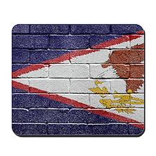 flag_grunge_wall_american_sam Mousepad