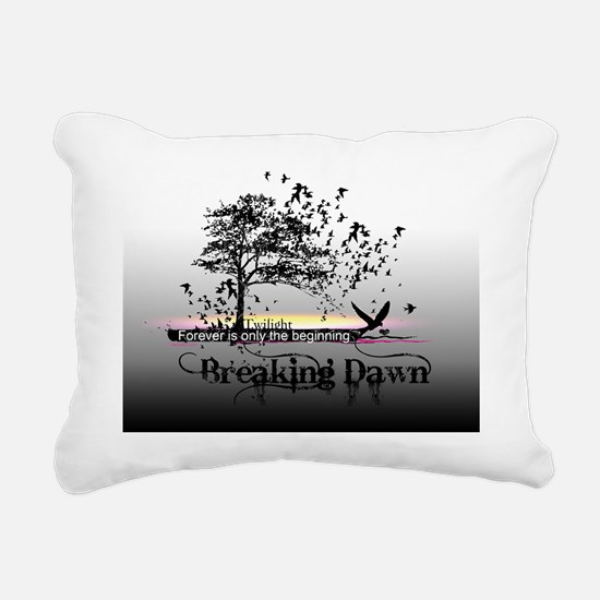 small poster black and w Rectangular Canvas Pillow