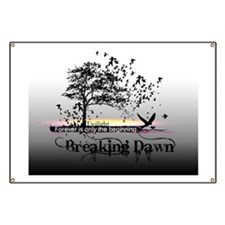 small poster black and white breaking dawn  Banner