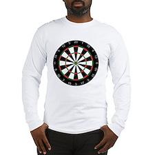 dart board Long Sleeve T-Shirt