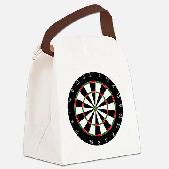 dart board Canvas Lunch Bag