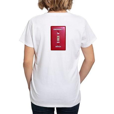Emergency Switch... Women's V-Neck T-Shirt