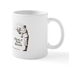 """Exalt the Bean"" Right-Handed Coffee Mug"