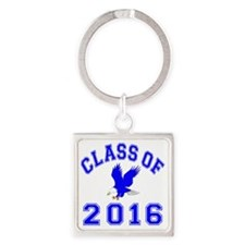 CO2016 Eagle Blue Square Keychain