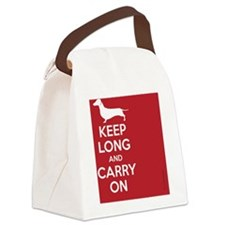 keep_calm_rectangle Canvas Lunch Bag