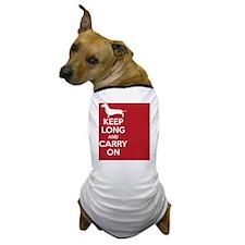 keep_calm_rectangle Dog T-Shirt