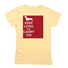 keep_calm_rectangle Girl's Tee