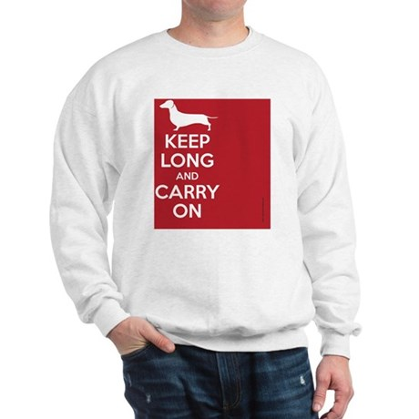keep_calm_rectangle Sweatshirt