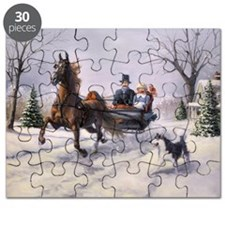 Dashing Through the Snow Puzzle
