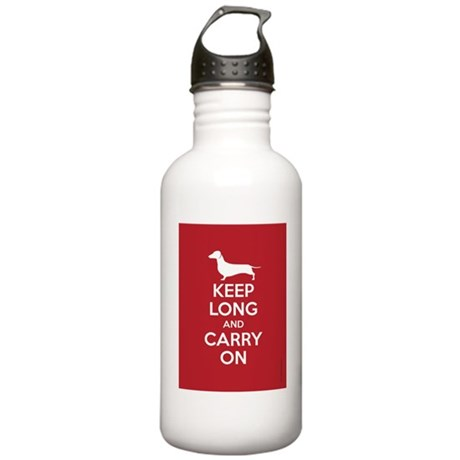 keep_calm_9x12 Stainless Water Bottle 1.0L