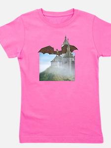 hell_dragoncastle_tshirt Girl's Tee