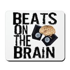 Beats on the Brain Mousepad