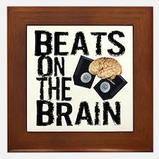 Beats on the Brain Framed Tile
