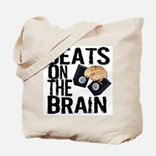Beats on the Brain Tote Bag