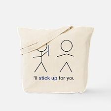stick up Tote Bag