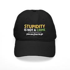stupidity wh Baseball Hat