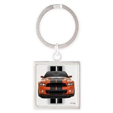 2013stang Square Keychain