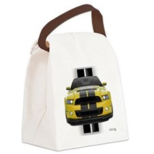 2013stangyellow Canvas Lunch Bag