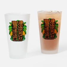 Tiki Gods Drinking Glass