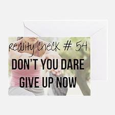 reality check t-shirt #54 Greeting Card