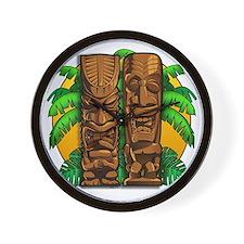 Tiki Gods Wall Clock