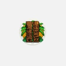 Tiki Gods Mini Button