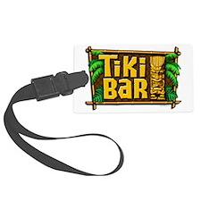 Tiki Bar Luggage Tag
